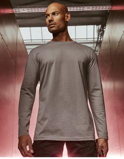 Herren T-Shirt Longsleeve, Single-Jersey