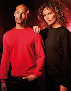 Herren Sweater, Langstapelige Baumwolle und Polyester
