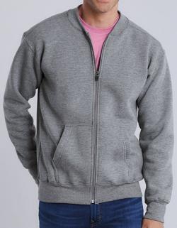 Herren Hammer Adult Full Zip Jacket, 100 % Baumwollgewebe