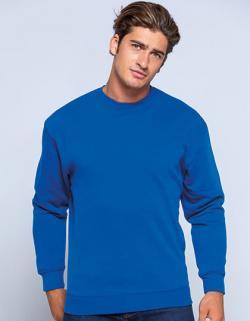Herren Sweatshirt, 1x1 Rippstrick-Bündchen an Ärmelabschluss