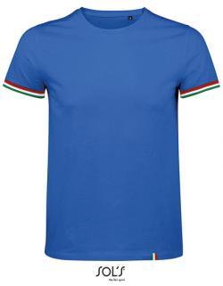 Herren Shirt Men´s Short Sleeve T-Shirt Rainbow