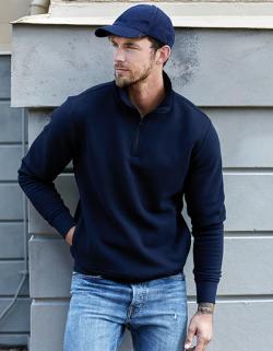 Herren Sweat Half Zip Sweatshirt