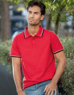 Herren Polo Fairfield Men´s Poloshirt, Piqué-Strick