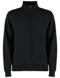 Herren Jacke, Regular Fit Zipped Sweatshirt