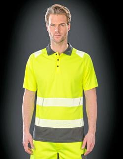 Recycled Safety Polo Shirt - Schnell trocknend