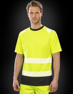 Recycled Safety T-Shirt - Sicherheitstshirt - Atmungsaktiv