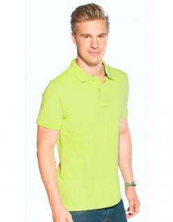 Men´s Single Jersey Herren Poloshirt