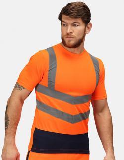 Pro Hi Vis Short Sleeve T-Shirt - Sicherheits-T-Shirt