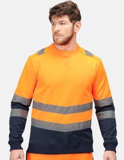 Pro Hi Vis Sweat Top - Sicherheitssweatshirt
