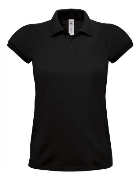 Damen Poloshirt Heavymill