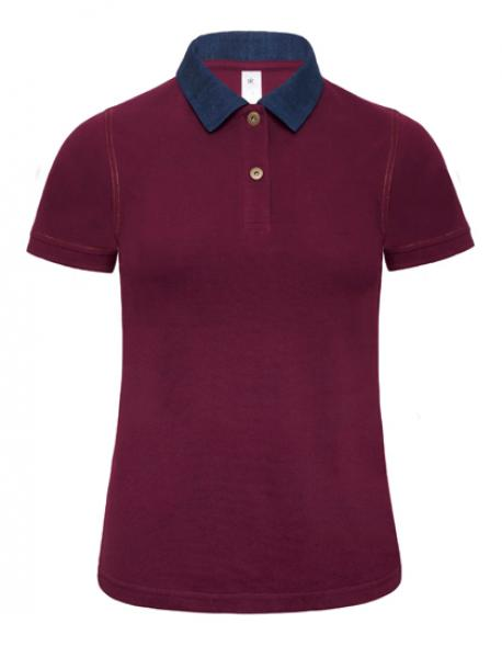 Poloshirt Denim Forward /Women