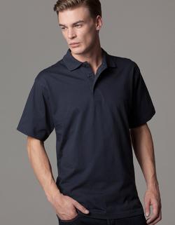 Jersey Knit Poloshirt Herren