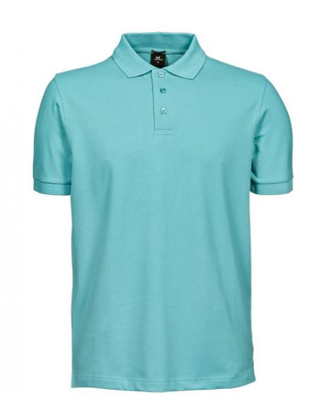 Mens Luxury Stretch Poloshirt Herren