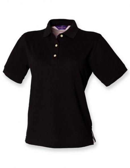 Damen Classic Piqué Heavy-Poloshirt