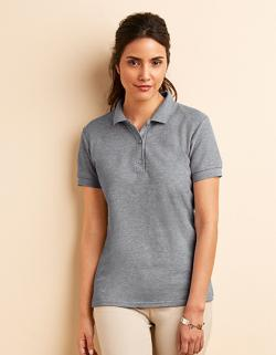 Premium Cotton Damen Double Piqué Sport Shirt