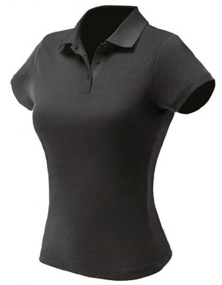 Damen Pique Poloshirt
