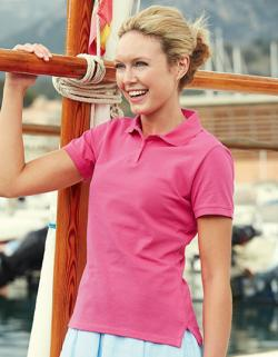 Damen Lady Fit Poloshirt