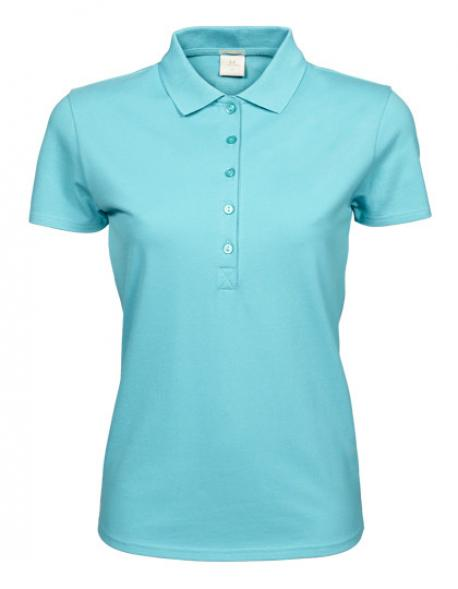Damen Luxury Stretch Poloshirt
