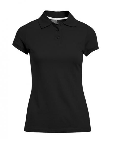 Damen Single Jersey Poloshirt