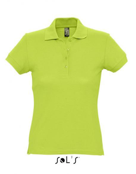 Damen Poloshirt Passion