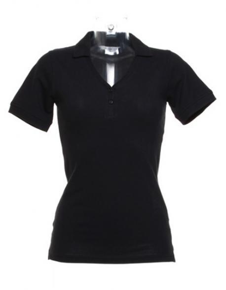 Sophia Comfortec® V Neck Damen Polo Shirt