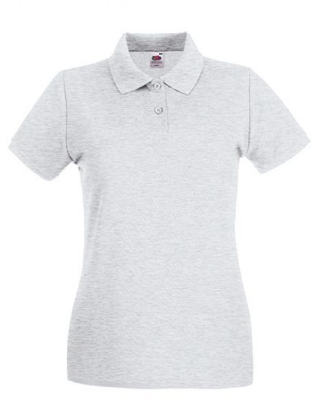 Lady-Fit Damen Premium Poloshirt