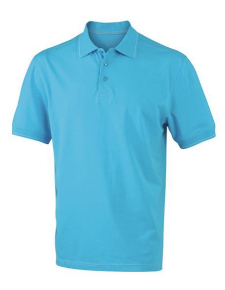 Herren Elastic Poloshirt