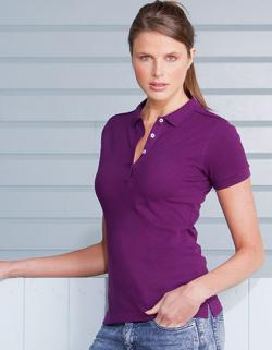 Damen Stretch Poloshirt