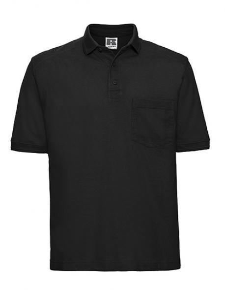 Herren Workwear-Poloshirt - Waschbar bis 60 °C