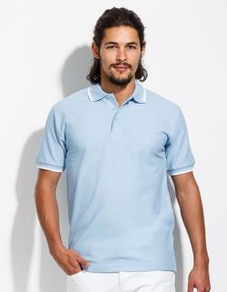 Herren Contrast-Poloshirt Practice