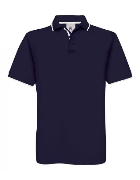 Herren Poloshirt Safran Sport