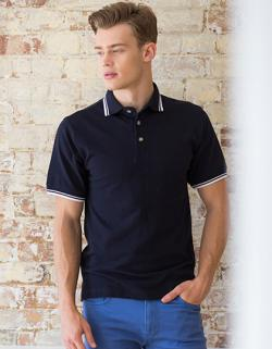 Tipped Collar And Cuff Poloshirt Herren