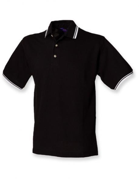Tipped Collar And Cuff Poloshirt Herren