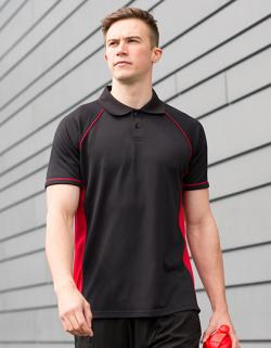 Panel Performance sportliches Herren Poloshirt