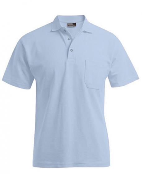 Men´s Heavy Poloshirt Pocket - bis 5XL