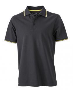 Men´s Coldblack® Herren Poloshirt + Schutz vor UV-Strahlung