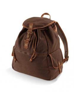 Vintage Canvas Backpack / Rucksack | 30 x 36 x 16 cm