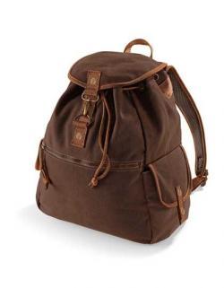 Vintage Canvas Backpack / Rucksack | 30 x 36 x 16 cm