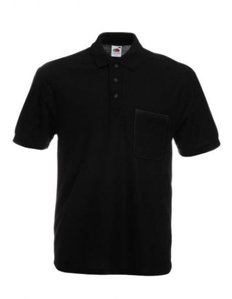Herren Pocket Poloshirt 65/35