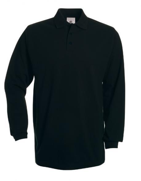 Poloshirt Heavymill Longsleeve / Unisex