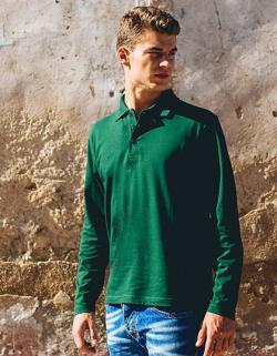 Mens Longsleeve Poloshirt