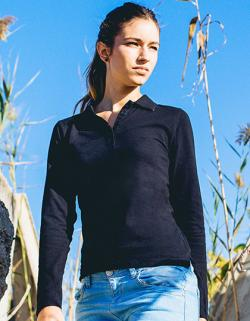 Woman Longsleeve Poloshirt