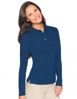 Women s Heavy Poloshirt Longsleeve