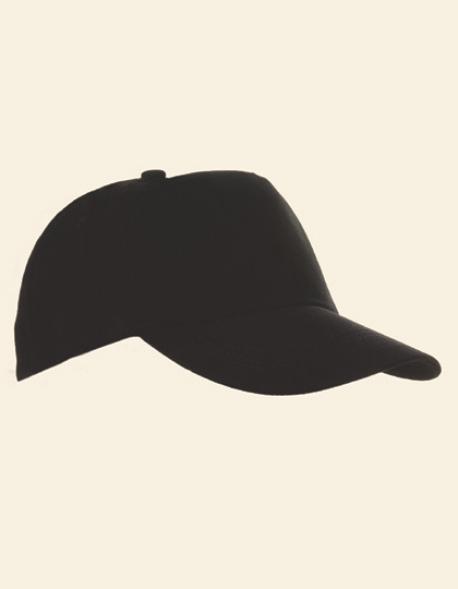 5-Panel Baumwollcap brushed / Kappe / Mütze / Hut