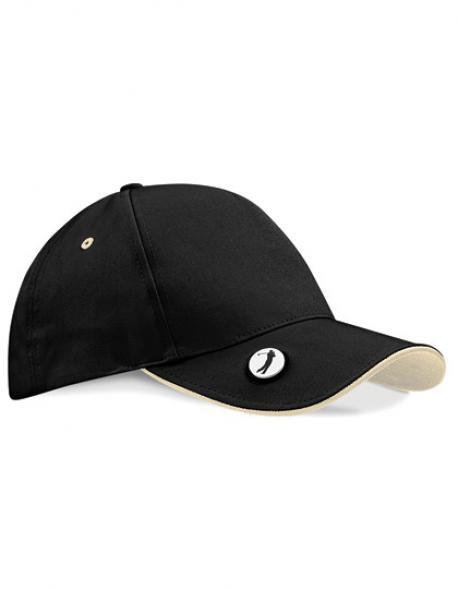 Pro-Style Ball Mark Golf Cap / Kappe / Mütze / Hut