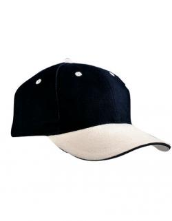6-Panel Sandwich Cap / Kappe / Mütze / Hut