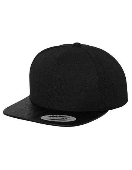 Carbon Snapback Cap / Kappe / Mütze / Hut