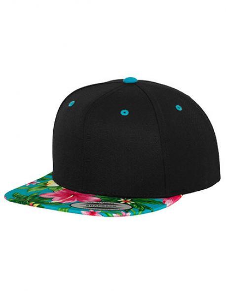 Hawaiian Snapback Cap / Kappe / Mütze / Hut