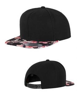 Floral Snapback Cap / Kappe / Mütze / Hut
