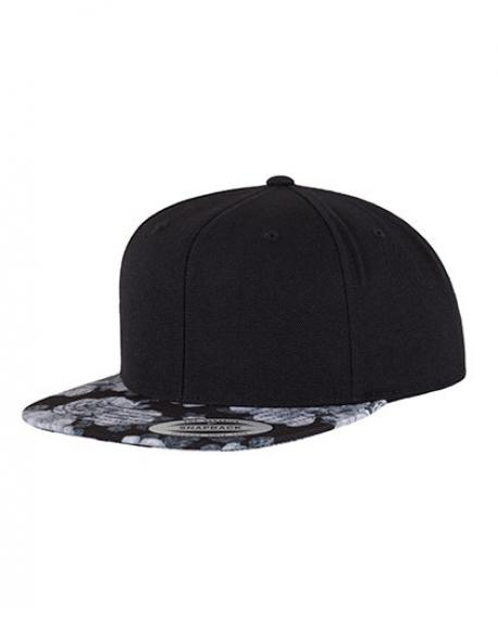 Roses Snapback Cap / Kappe / Mütze / Hut